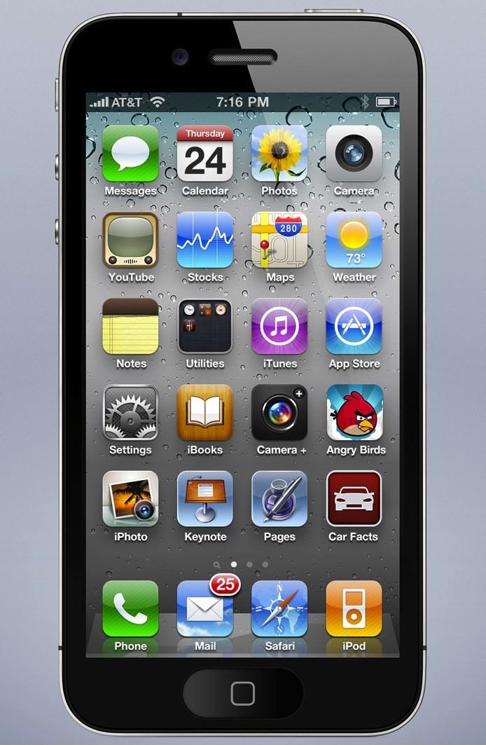 Как сделать экран айфона 4 s