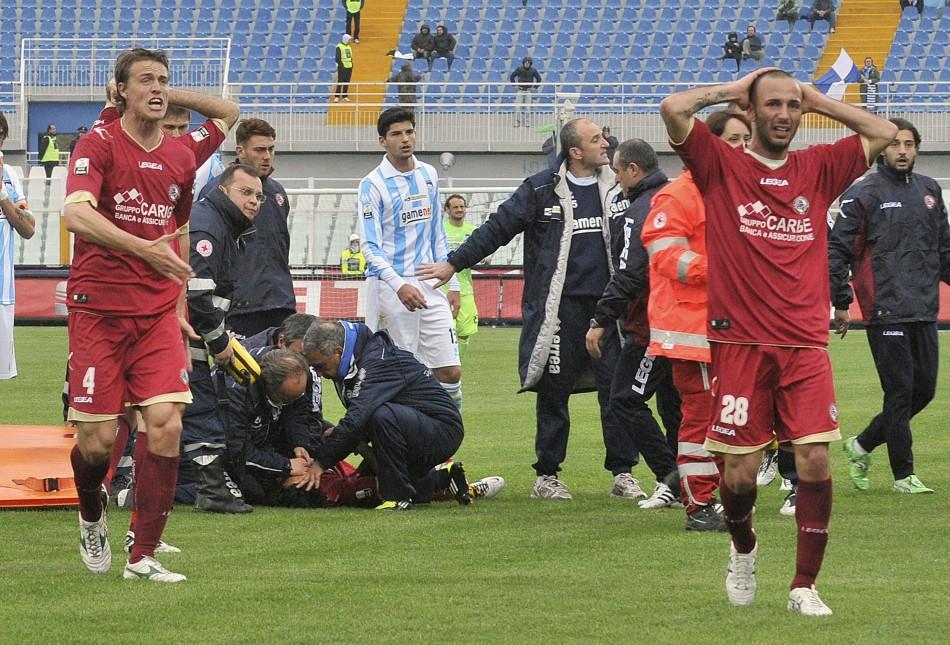 Piermario Morosini: Italian Footballer Dies of Heart ...