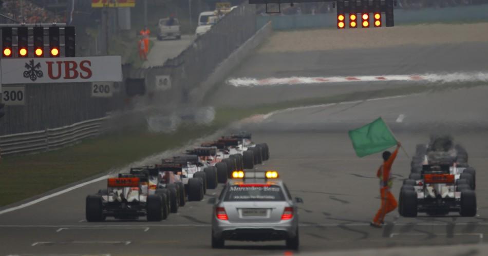 F1 China 2012 Mercedes Rosberg Wins Maiden Grand Prix