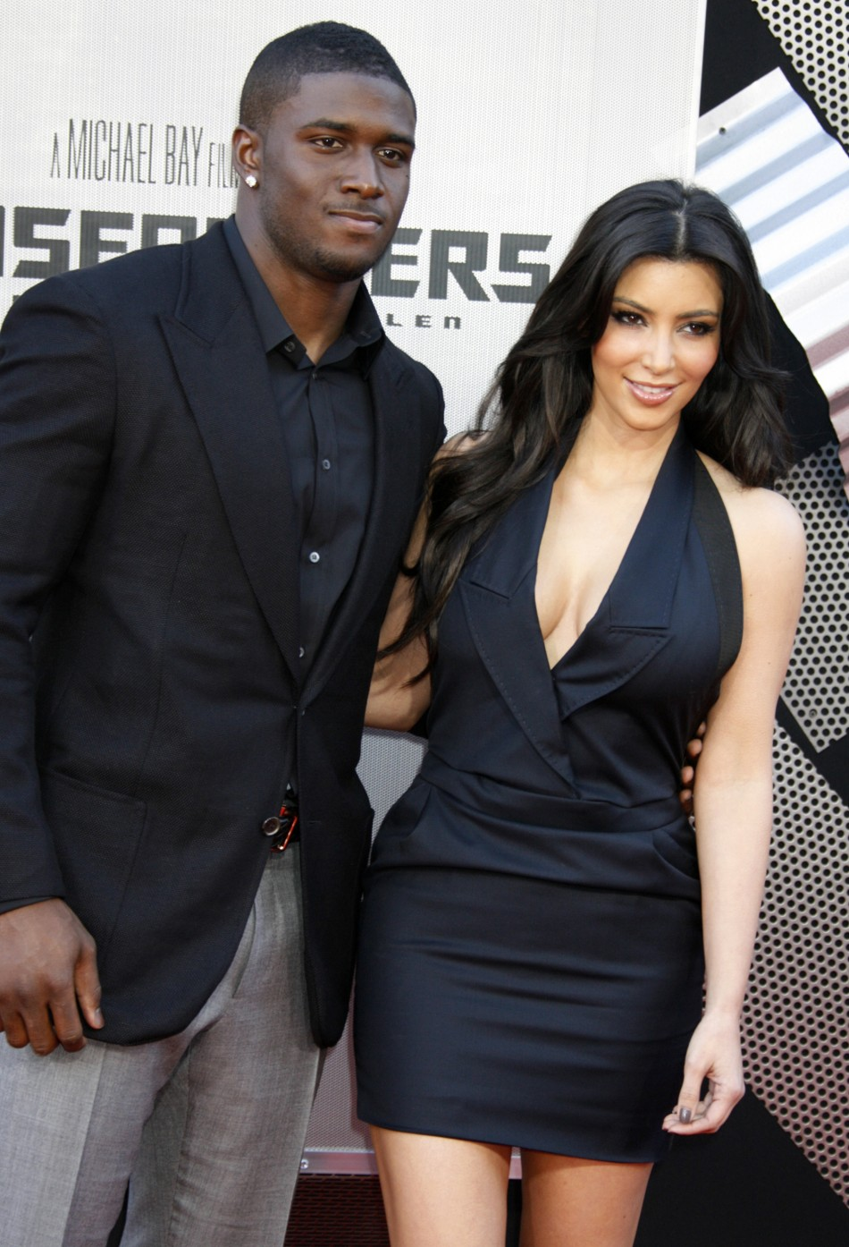 Kim Kardashain and Reggie Bush