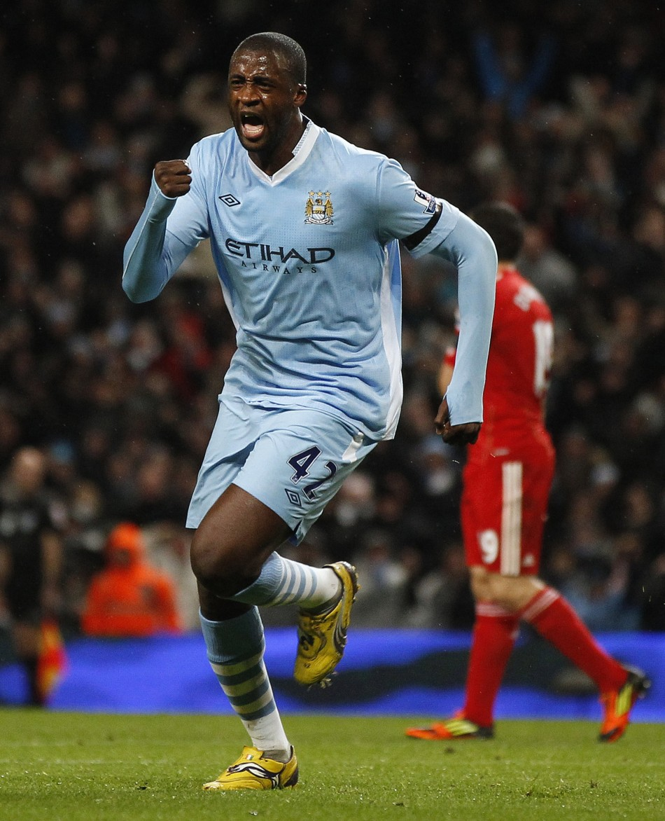 Yaya Toure Claims City...
