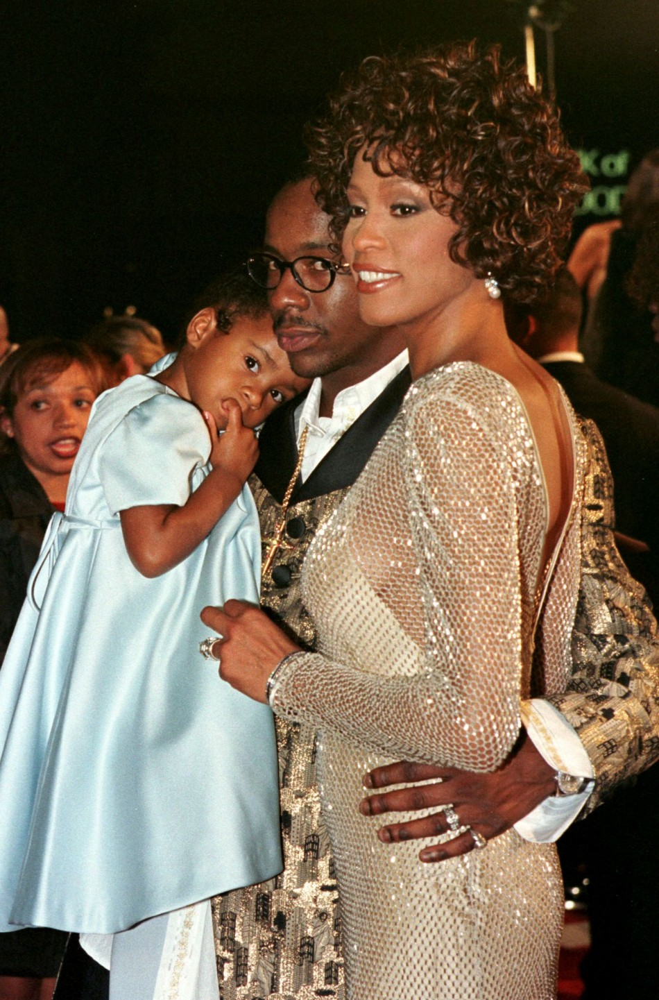 Brown Houston Daughter Brown Whitney Houston's
