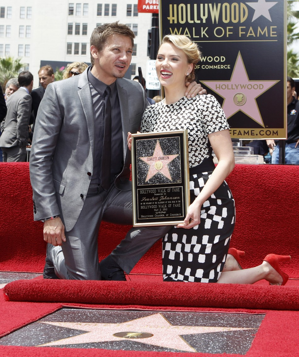 Scarlett Johansson Gets 'Starred' on Walk of Fame in Hollywood [