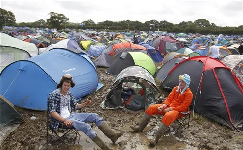 Isle of Wight Festival Camping Isle of Wight Festival