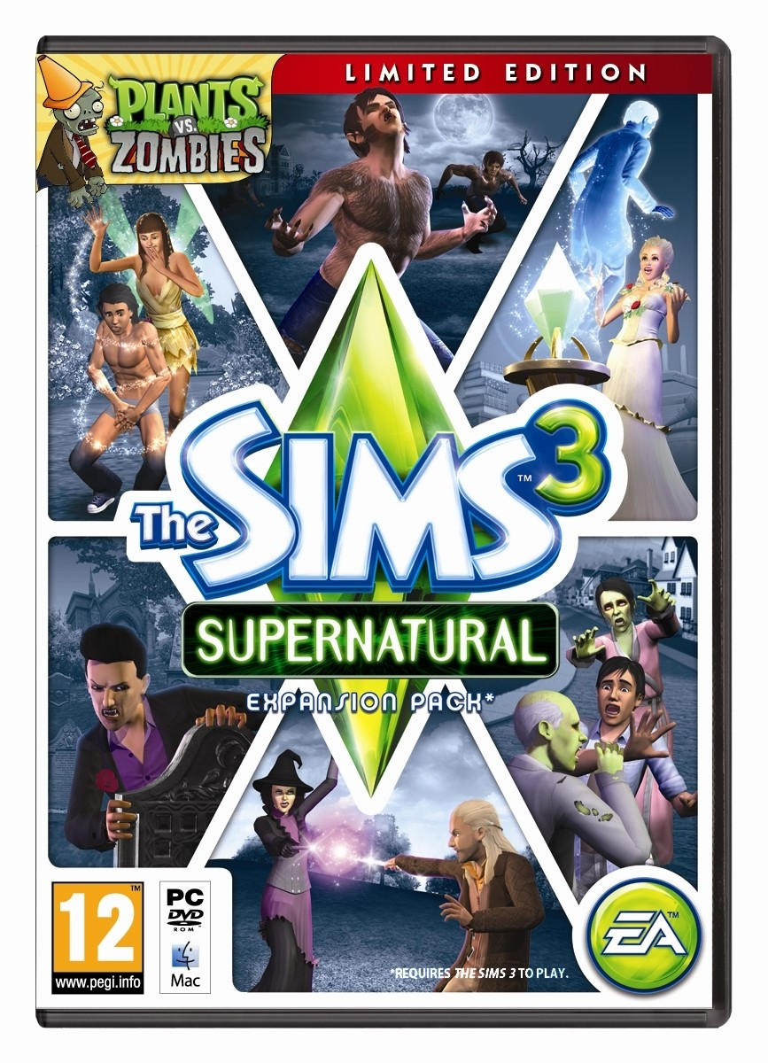 Download Crack Only The Sims 3 Ambitions WORK sims-3-supernatural-expansion-pack-including-witches-werewolves-fairies-vampires-zombies