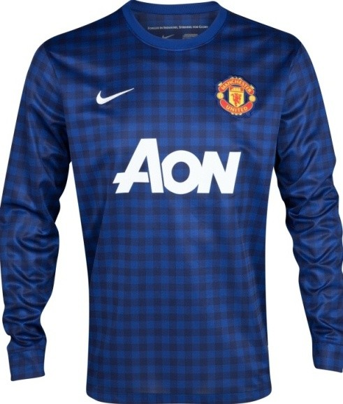 Manchester United Unveil 2012/13 Away Kit, Introduce Monochromatic ...
