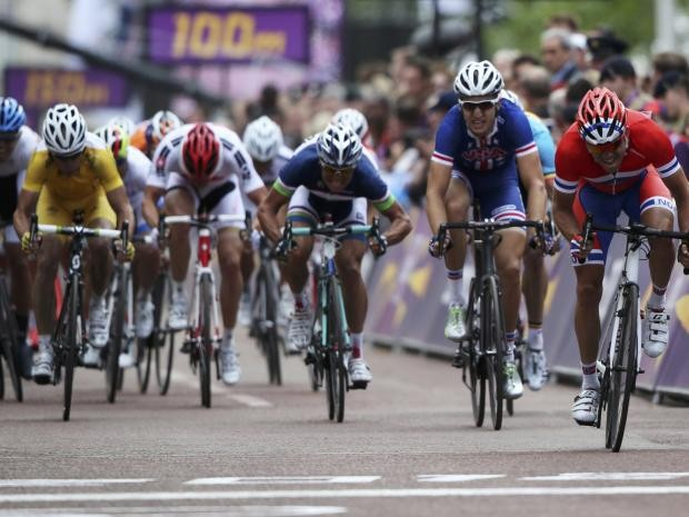For communication problems during london 2012 cycling road races