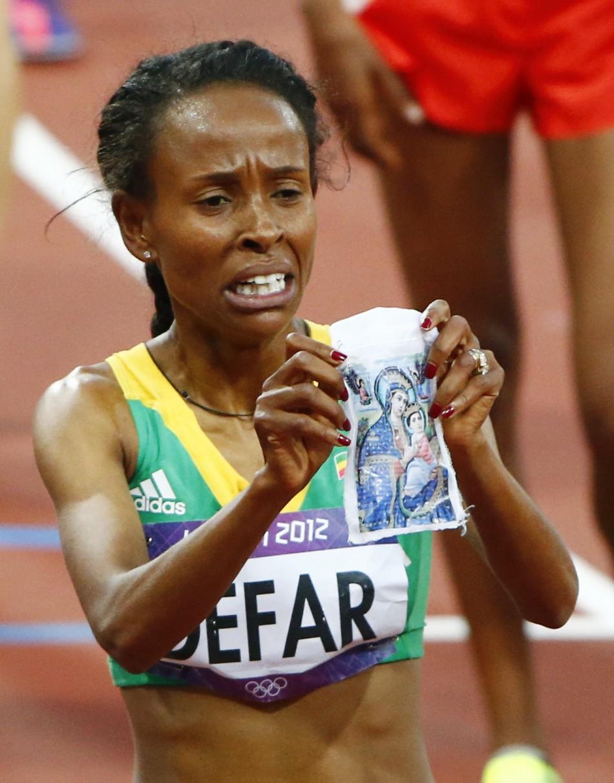 London Olympics 2012: Ethiopia's Defar Wins Gold in Women ...