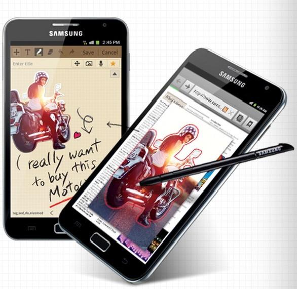 Note N7000 vs Note 2 Samsung Galaxy Note N7000 Hits