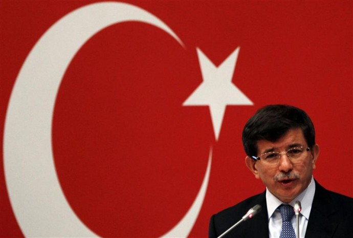 Turkey's Foreign Minister Davutoglu