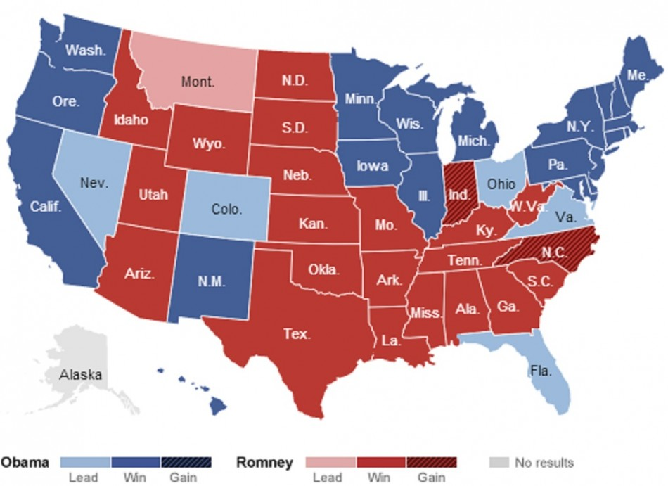 US Election 2012 Obama Wins Romney Concedes