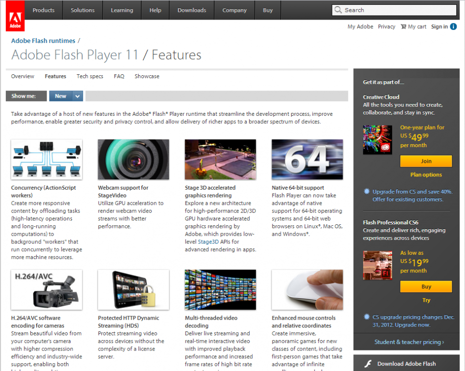 Adobe Flash Player Download - softpediacom