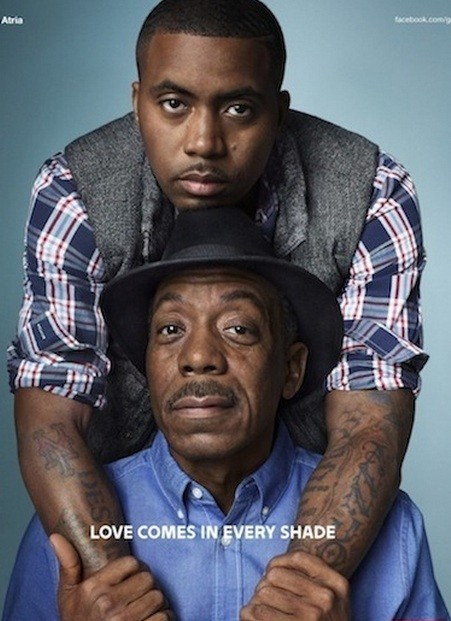 Photo of Nas & his  Father   Olu Dara