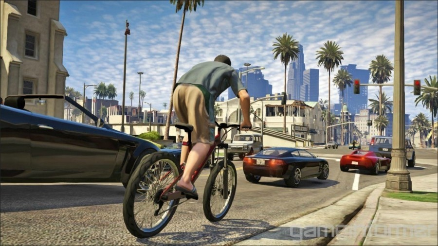 GTA V Game Informer shot