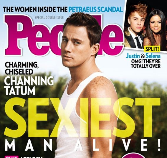 Channing Tatum: Sexiest Man Alive by People Magazine