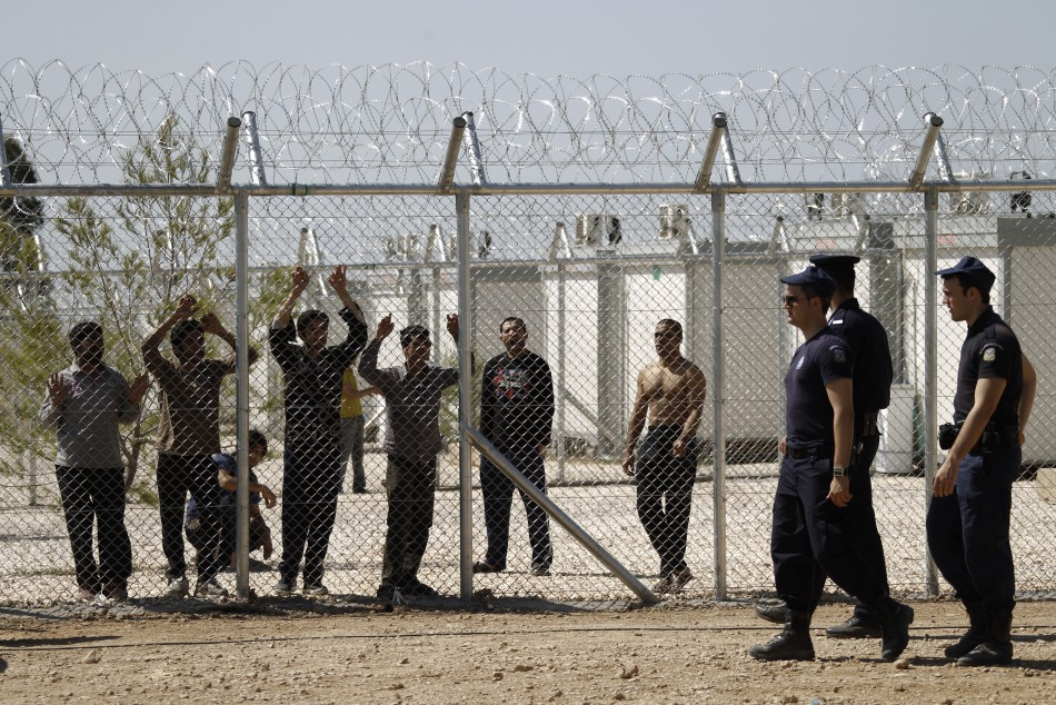 Greek Police Crush Immigrant Revolt At Detention Camp