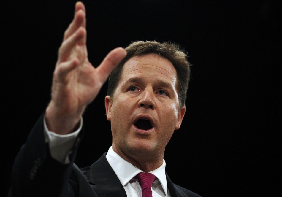 The Speaker's office has confirmed that Nick Clegg will make his own statement on Leveson (Reuters)