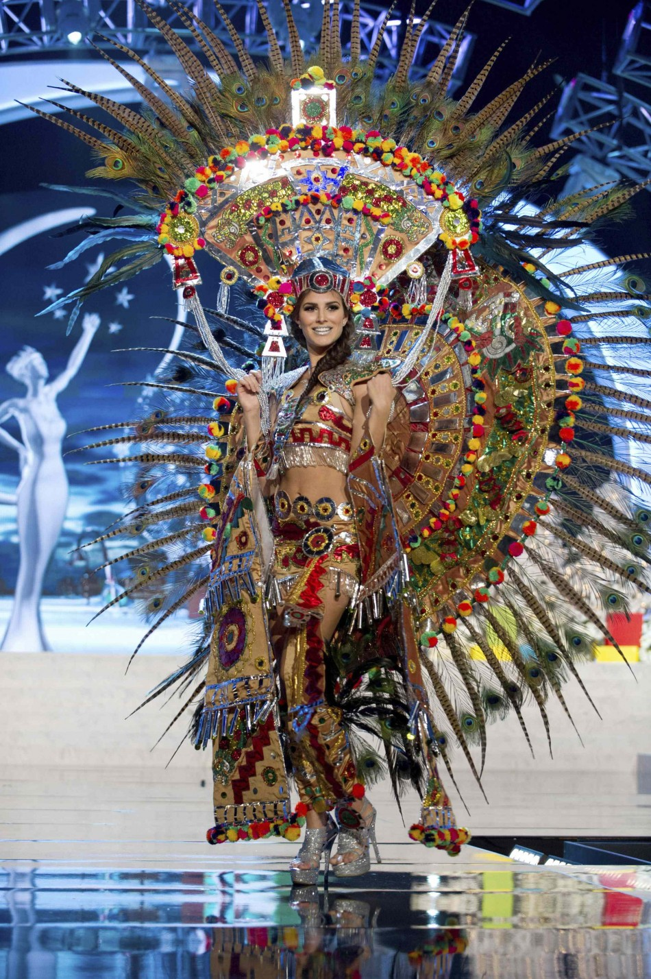 Miss Mexico Karina Gonzalez on stage at the 2012 Miss Universe National Costume Show at PH Live in Las Vegas