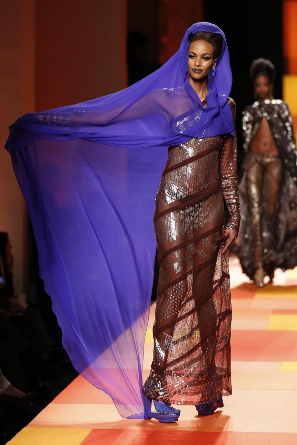 Paris Fashion Week 2013 Valentino Gaultier And Saab