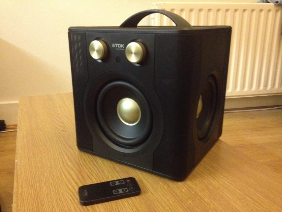 Tdk Sound Cube Speaker Review