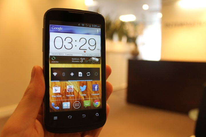 zte blade 3 review July