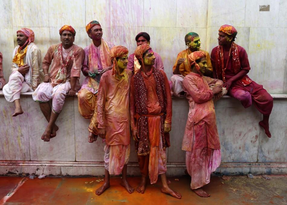 Holi In India, pink vibgyor