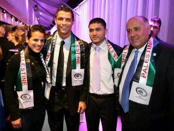 Cristiano Ronaldo Palestine Scarf