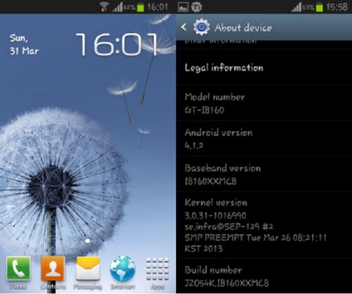 Samsung has released Android 4.1.2 Jelly Bean update for Galaxy Ace 2.