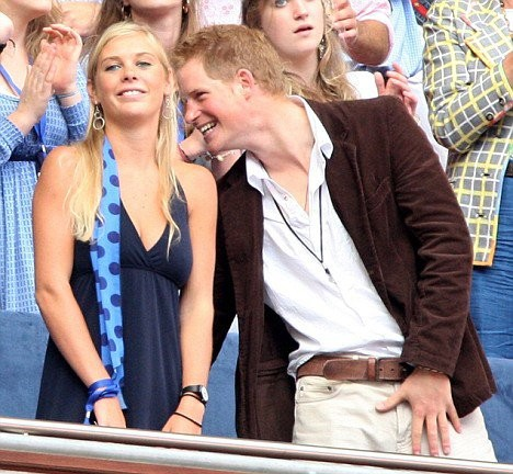 Prince harry girl he is dating
