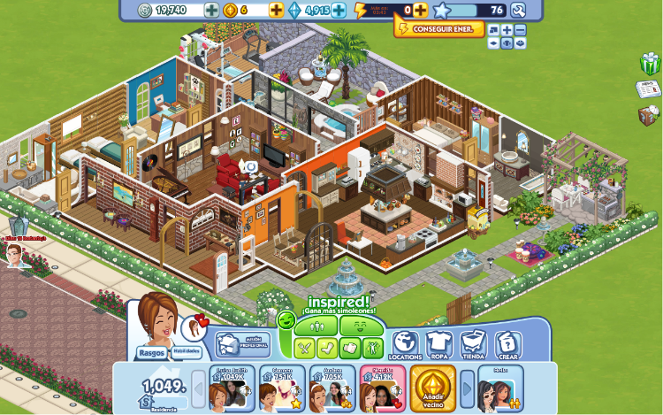the sim games