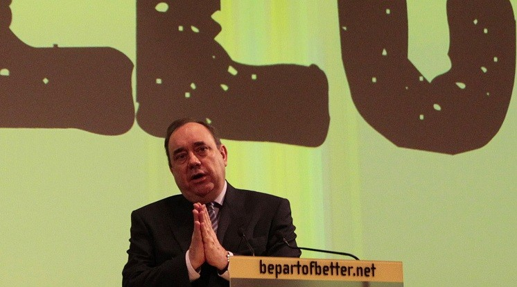 Alex Salmond's SNP is fighting for Scottish devolution