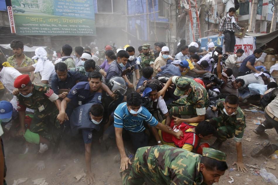 Bangladesh Dhaka building collapse leaves 87 dead