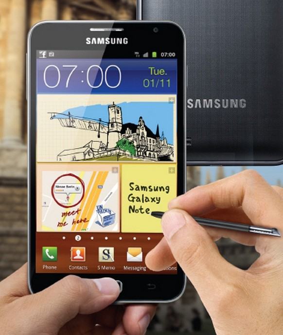 Note N7000 vs Note 2 Bean on Galaxy Note N7000