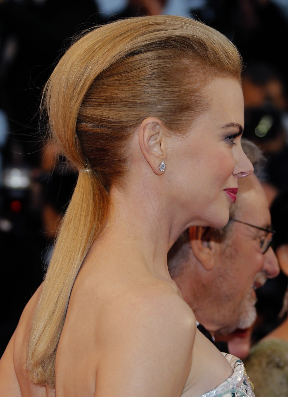 REUTERS/Regis Duvignau Jury member of the 66th Cannes Film Festival actress Nicole Kidman arrives on the red carpet for the screening of the film 'The Great ... - cannes-film-festival-2013-fashion-that-stood-out-red-carpet