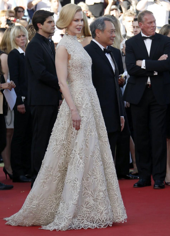 Nicole Kidman Balenciaga Wedding Dress