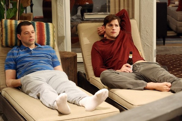 Two and a half men gay