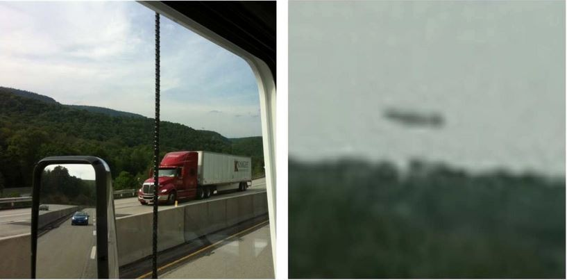 UFO Sighting By Truck Drivers in Penn, USA