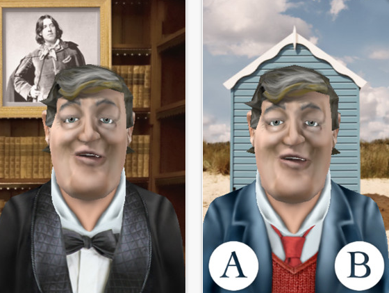 best iphone apps stephen fry