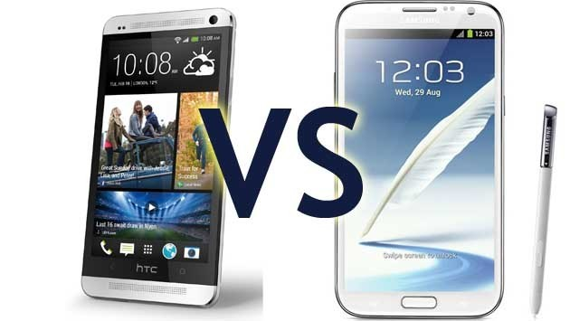 Samsung Galaxy Note 3 Vs HTC One Max