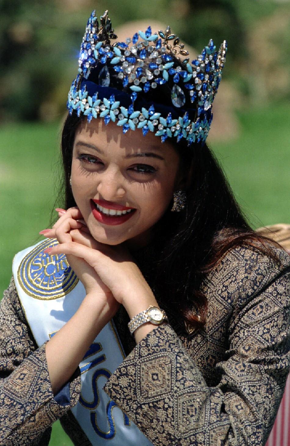 Apologise, but aishwarya rai as miss world are not
