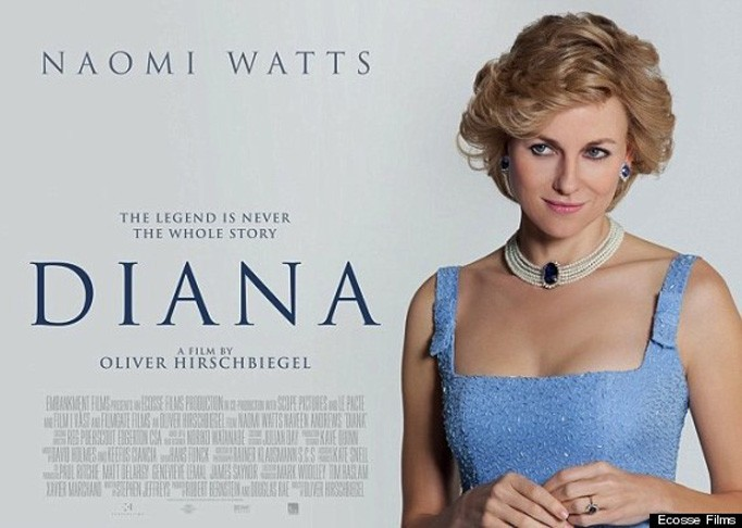 Poster of Naomi Watts As Princess Diana Released