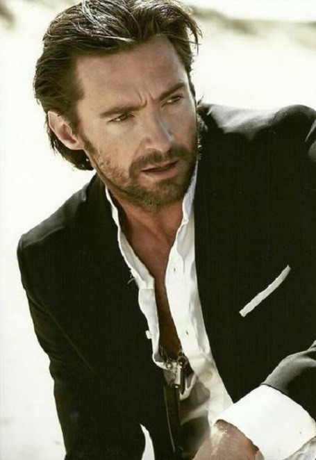 ... He is also the 3rd Highest Paid Actor in Hollywood.https://www.facebook.com/HughJ Actor Hugh Jackman gestures ... - hugh-jackman