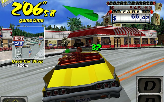 android crazy taxi
