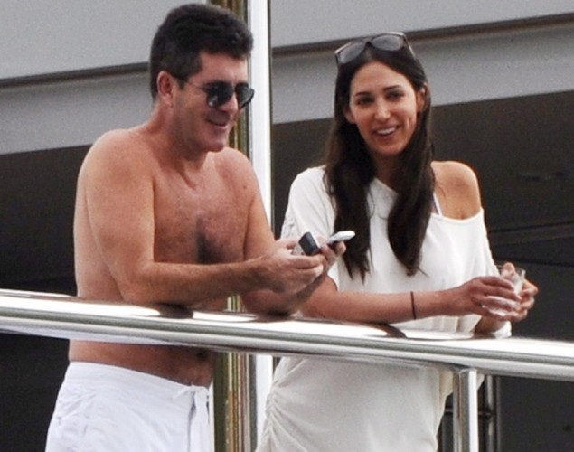 Simon Cowell and Lauren Silverman Welcome Son: Hilarious ...