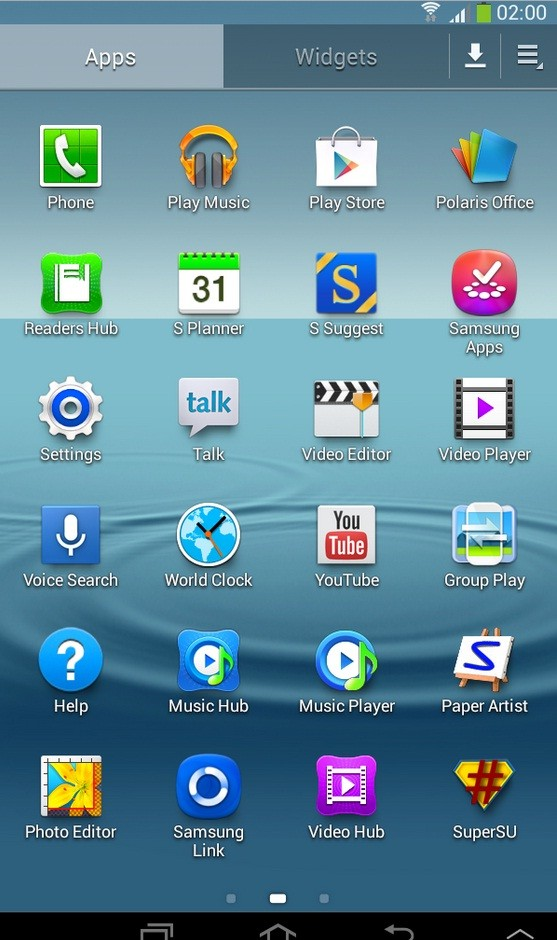 samsung galaxy tab 2 7.0 software update