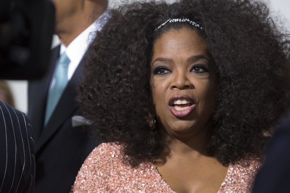 Oprah Winfrey is estimated to be worth more than £1.8bn (Reuters)