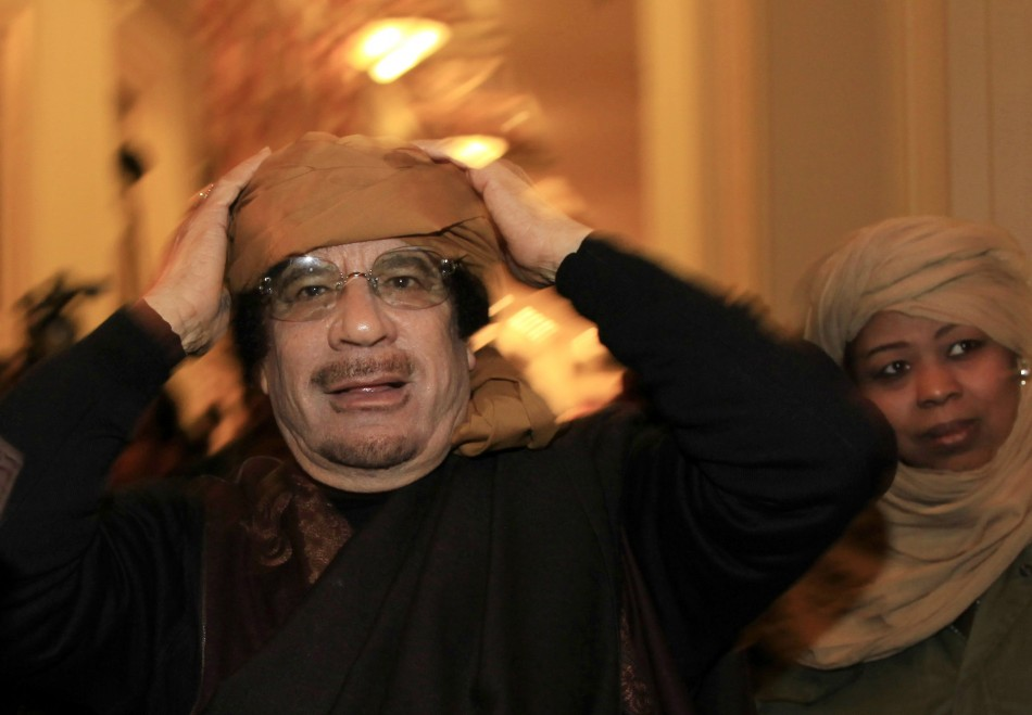 Colonel Gaddafi ruled in Libya for 42 years
