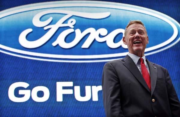alan mulally ceo ford motor company essay Leadership, business, money - alan mulally, ceo, ford motor company.