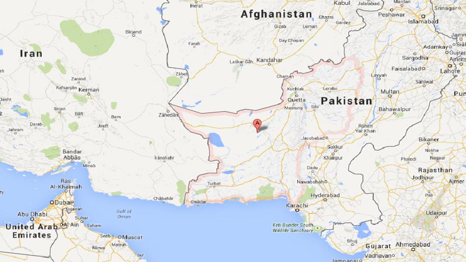 Pakistan Earthquake Kills At Least In Baluchistan - Where is pakistan