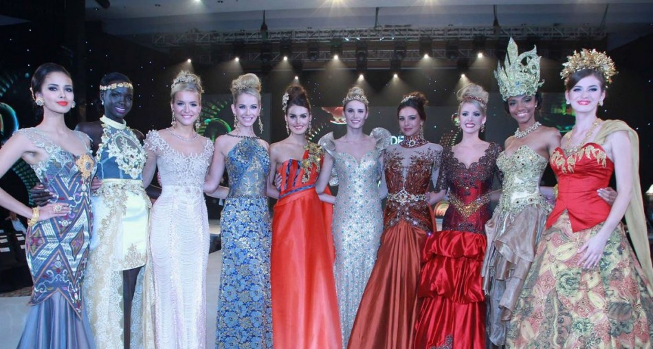 Miss World 2013 contestants pose ahead of the Miss World final which will take place in Bali. (Photo: Miss World/Facebook)